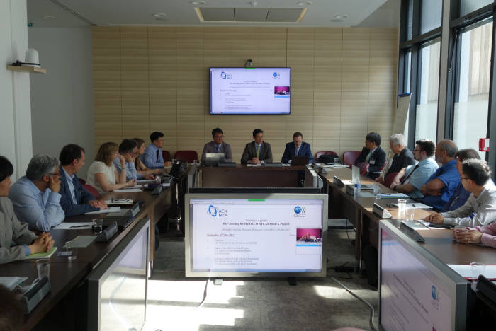 'OECD-ATLAS 국제공동연구' 2차 프로젝트를 위한 사전회의 모습