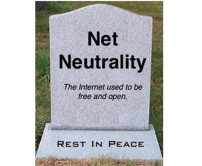 망중립성 옹호론자들은 FCC의 이번 개정안이 인터넷산업을 공동묘지화한 꼴이라며 격앙돼 있다.