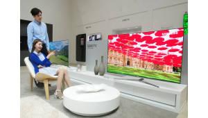 "[WIS 2017]""보고, 만지고, 말하라"" 삼성전자·LG전자 소통형 IT 체험장 구현"