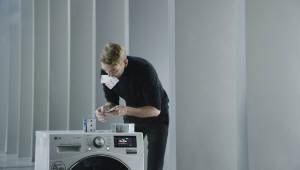 '카드탑 쌓은 LG 세탁기' 영상, 세계 3대 광고제 본상 수상
