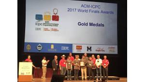 [사진으로 보는 프로그래밍 경시대회]한국, '금·동메달' 동시 수상