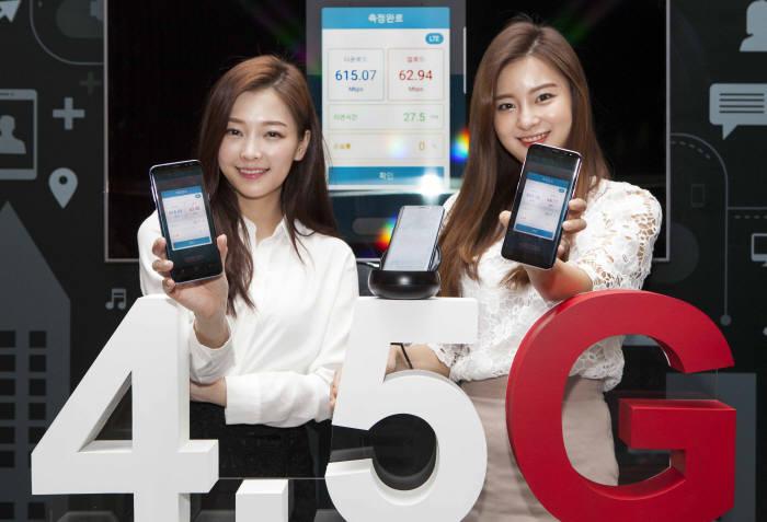 SK텔레콤이 최근 4.5G 서비스를 시작하며 5G 시대에 한걸음 다가갔다. 사진=SK텔레콤 제공