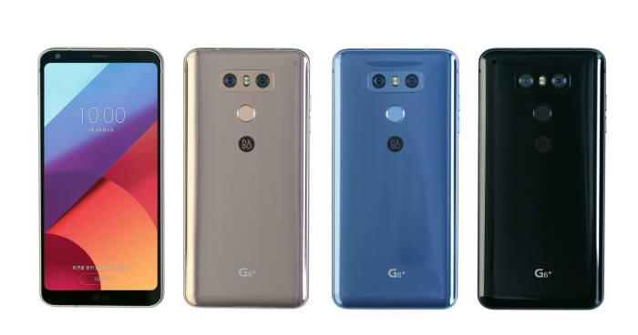 LG G6플러스 색상별 모델.