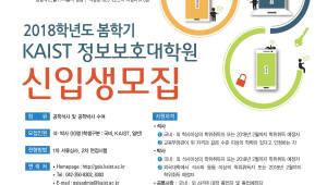 KAIST 정보보호대학원, 대학원·CSPN프로그램 신입생 모집