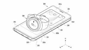 기어S 무선 충전하는 '삼성 폰 케이스' 특허 출원