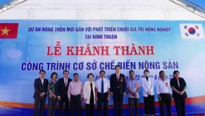 CJ그룹, 베트남 고추가공공장 준공… 글로벌 CSV 사업 박차