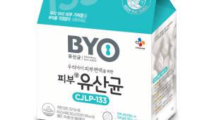 CJ제일제당, '김치유산균 아토피 개선 효능' 유럽학회서 발표