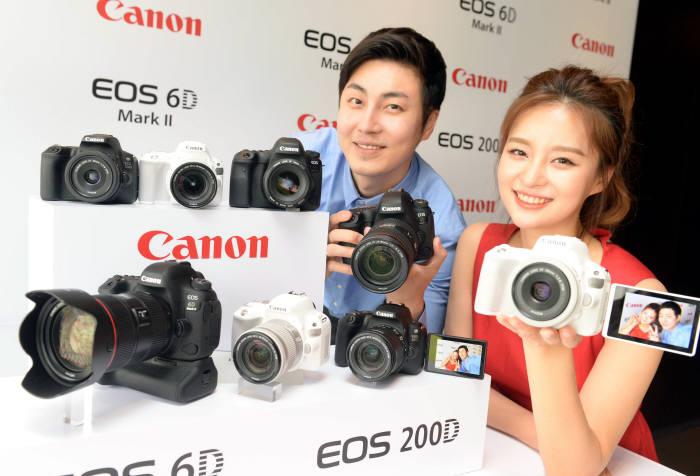 [동영상 뉴스]캐논, EOS 6D Mark II, EOS 200D 발표