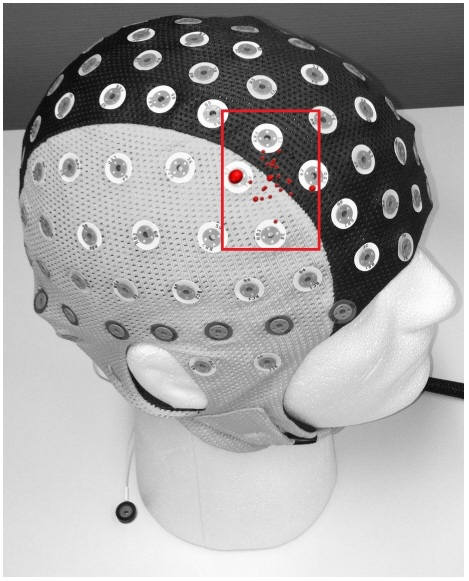 스위스 취리히대, 미국 하버드대와 시카고대의 공동연구진이 연구에 활용한 경두개직류자극술 장치의 모습이다. (출처: PNAS)