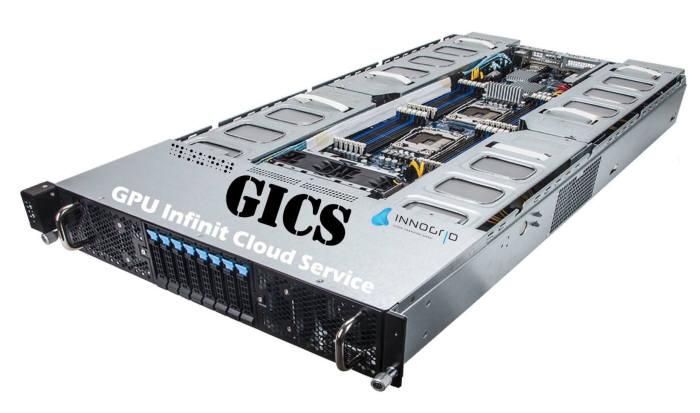 이노그리드, GPU 클라우드 서비스 '긱스(GICS)' 출시