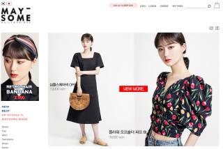 [역직구 성공마케팅]여성 의류 전문몰 '메이썸'