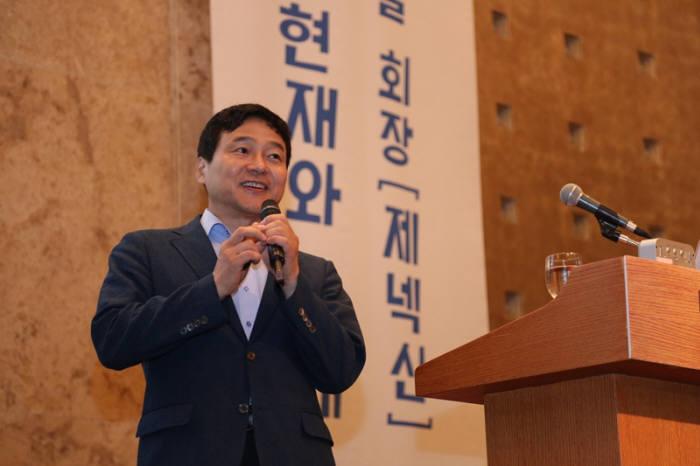 """성영철 제넥신 회장 """"유전자 치료제 더 각광 받을 것"""""""