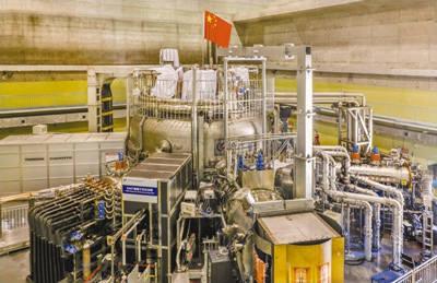 중국과기원 허페이연구소의 초전도 토카막 핵융합장치(사진:중국과기원)