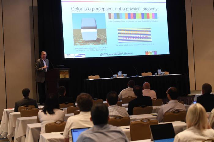 삼성전자, 미국에서 개최한 'QLED&HDR10 서밋'
