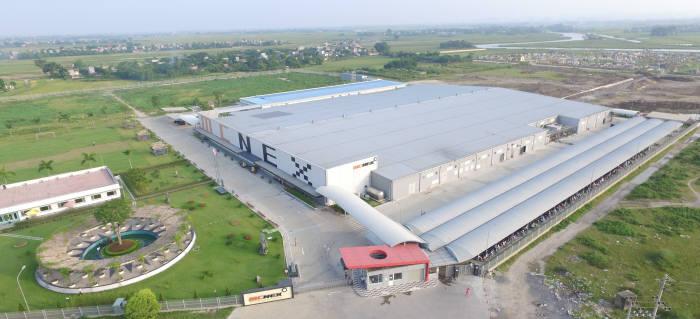 베트남 공장항공 사진