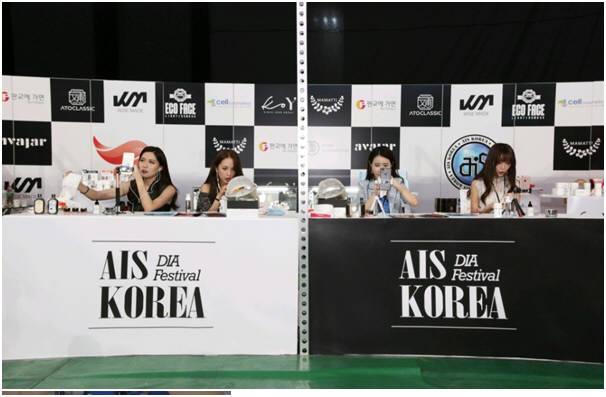 중국내 인기 왕홍들이 CJ E&M에서 주관한 다이아 페스티벌에서 이즈보 생방송을 통해 한국제품을 설명했다.