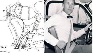 '3점식 안전띠', 올해로 특허등록 55년