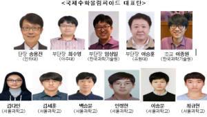 {htmlspecialchars(국제수학올림피아드(IMO), 한국 종합 1위·전원 '금메달')}