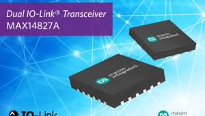 맥심 인터그레이티드, 오므론에 MAX14827A IO-링크 듀얼 채널 트랜시버 공급
