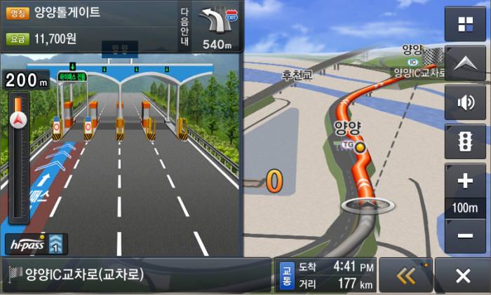현대엠엔소프트, '서울~양양' 고속도로 등 최신 도로 업데이트 실시 (제공=현대엠엔소프트)