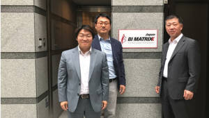 비아이매트릭스, 일본지사 설립하고 사업 강화