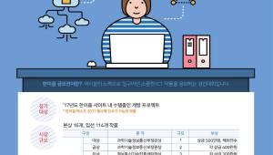 4차 산업혁명 이끌 우수 ICT인재 발굴의 장 '한이음 공모전 2017' 개최