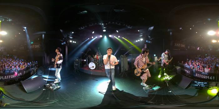 NOON VR 앱 내 공개된 버즈 뮤직비디오
