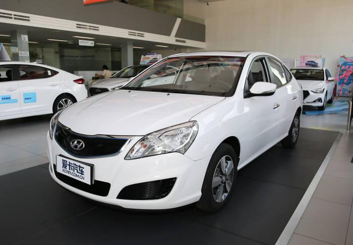 현대자동차 중국 전략형 전기차 '뉴 위에동 EV'