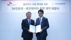 SK인포섹-퓨전데이타 '클라우드 사업 협력'