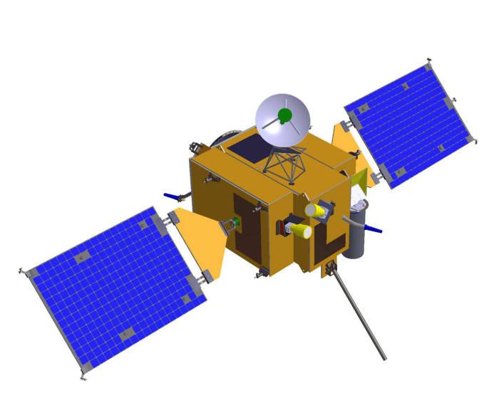 시험용 달 궤도선 형상