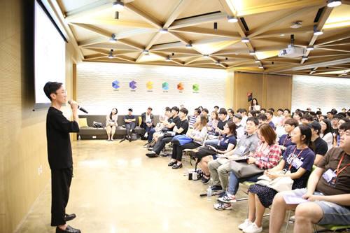 여기어때가 '구글캠퍼스 리쿠르팅 데이'에 참가, 스타트업 꿈나무를 만났다.