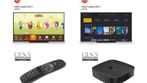 LG유플러스 IPTV 세계적 디자인 인정