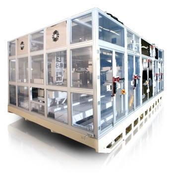 미래컴퍼니가 개발한 에지 그라인더는 디스플레이 단면을 정밀가공하는 장비다.