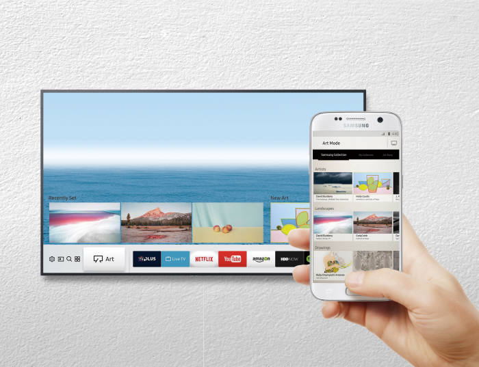 더 편리하고 더 똑똑해진 스마트 기능으로 아트모드와 사진 연출은 물론 다양한 콘텐츠도 간편하게 즐길 수 있다. 사진=삼성전자 제공