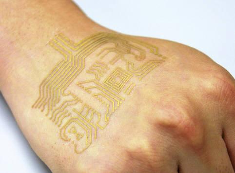 [IT핫테크]피부에 장시간 붙일 수 있는 초박형 전자회로 개발