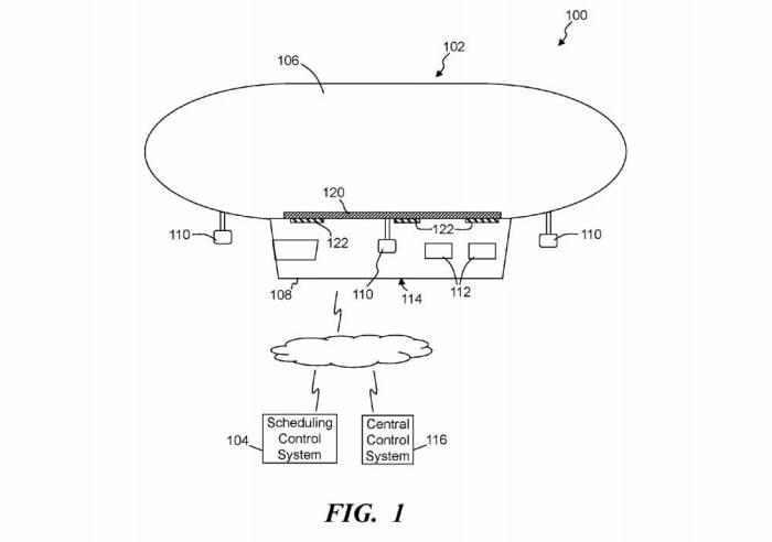 월마트가 출원한 공중 물류창고 특허(공개번호 US20170233053) 도면 / 자료: 미국 특허청