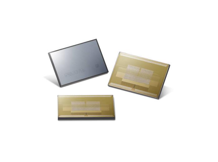 삼성전자가 최근 발표한 8GB HBM2 D램.