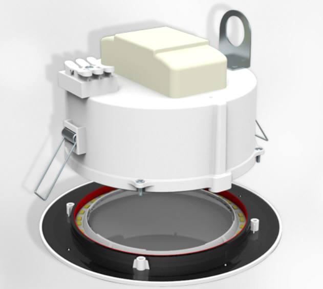 지엘비젼이 개발한 QD LED 조명 (사진=지엘비젼)