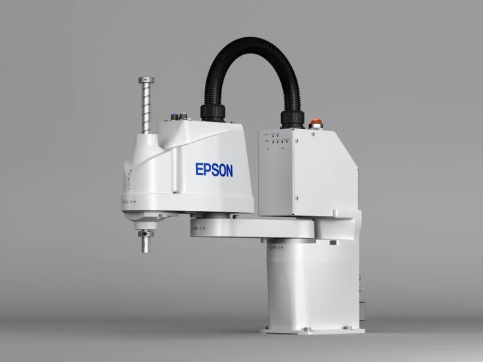 텔콤씨앤에스가 국내에 공급하는 한국엡손의 산업용 스카라 로봇 T3.