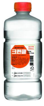 JW중외제약, 약국 전용 생리식염수 '크린클' 판매