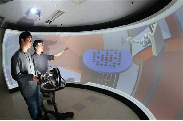 원전 해체 시뮬레이터(사진 : 한국원자력연구원)