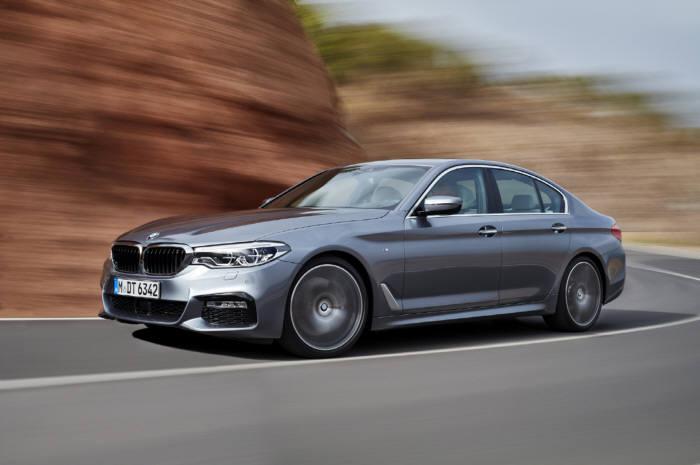 BMW 2018년형 뉴 5시리즈.