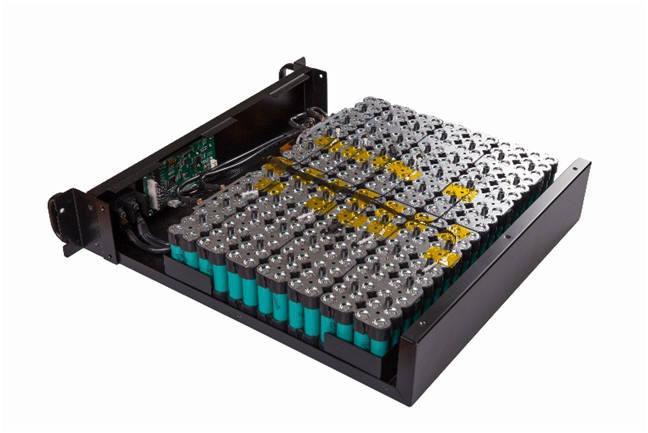 신흥에스이씨의 신규 제품군인 원통형 배터리팩 모듈 (사진=신흥에스이씨)