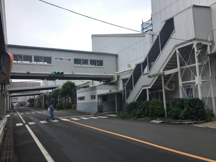 일본 가나가와현 요코스카시에 위치한 닛산 오파마 공장단지.