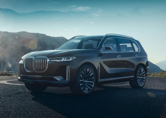 BMW X7 i퍼포먼스 콘셉트.