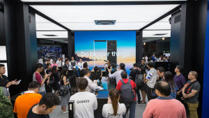 삼성전자 싱가포르에 '갤럭시 스튜디오' 오픈