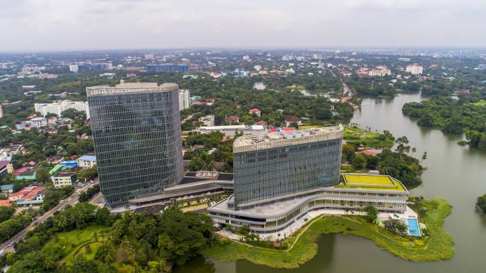 포스코대우가 투자한 미얀마 '롯데호텔 양곤'. [자료:포스코대우]