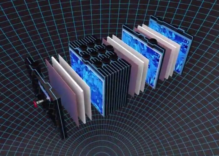 미국 스타트업 그리드텐셜이 개발한 차세대 납축전지 개념도. 실리콘을 활용해 무게를 줄이고 수명을 낮췄다. (사진=그리드텐셜)