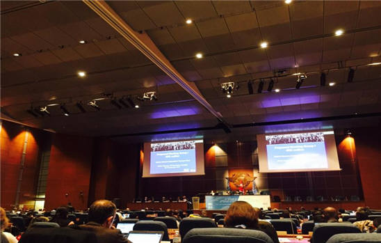 캐나다 몬트리올에서 열린 46차 IPCC 총회 모습. [자료:기상청]