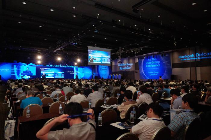 28회째를 맞이한 한국델켐 유저그룹콘퍼런스가 1200여명이 참석하는 등 열기가 뜨거웠다.